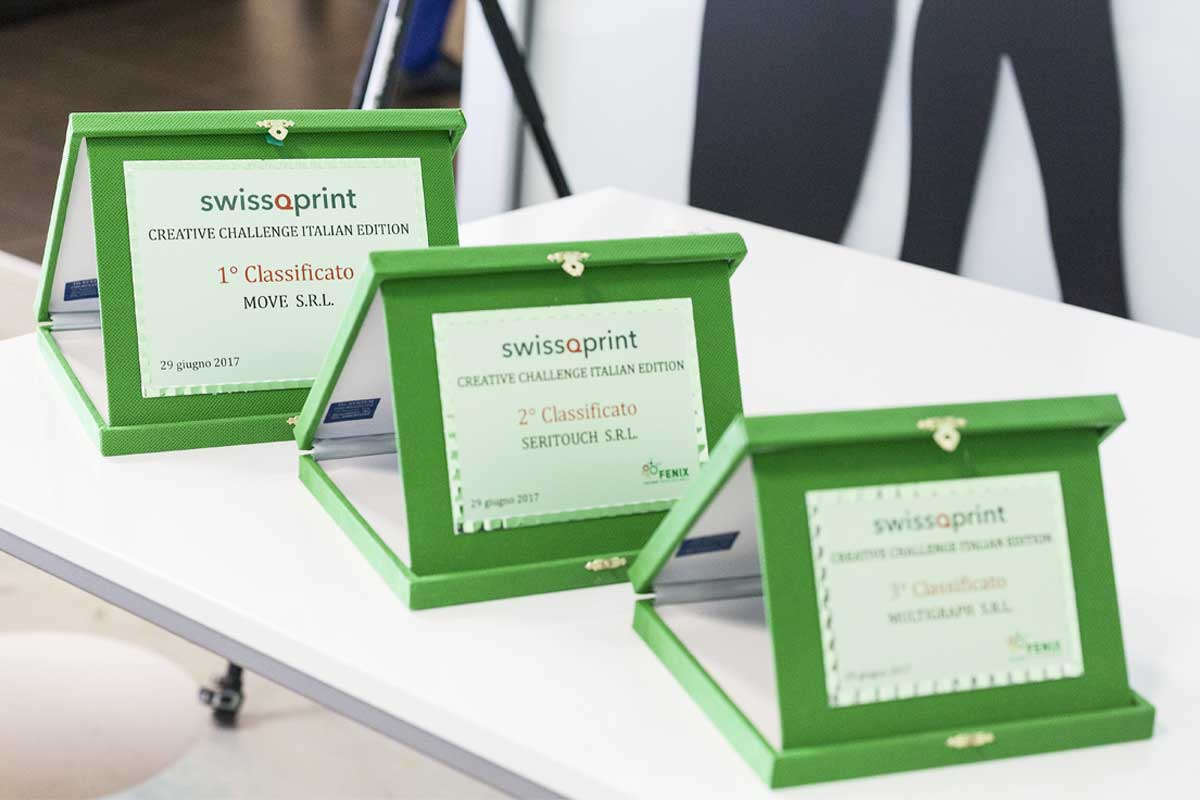 SWISSQPRINT CREATIVE CHALLENGE ITALIAN EDITION