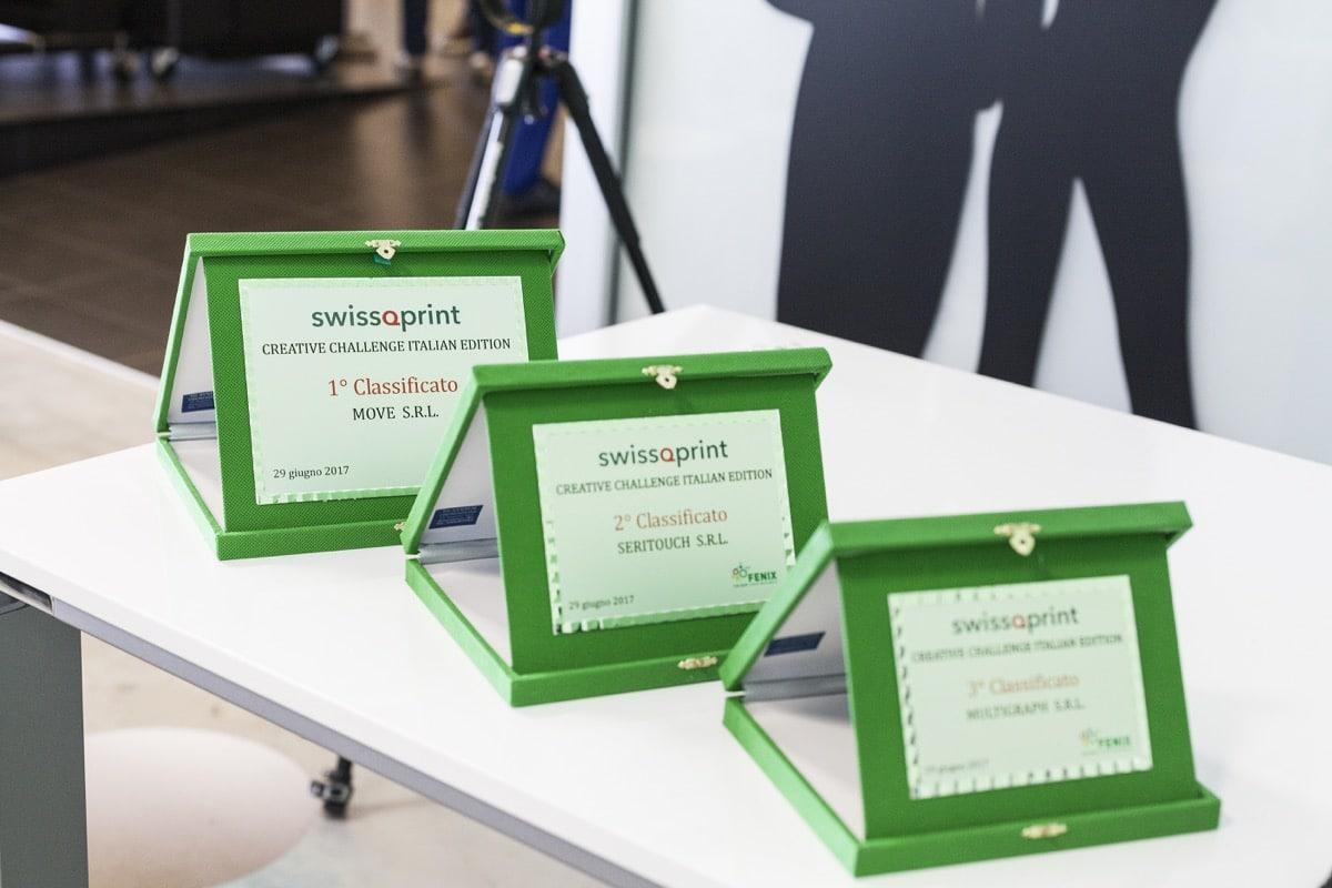 Inaugurazione Fenix Print Lab swissQprint Creative Cahllenge