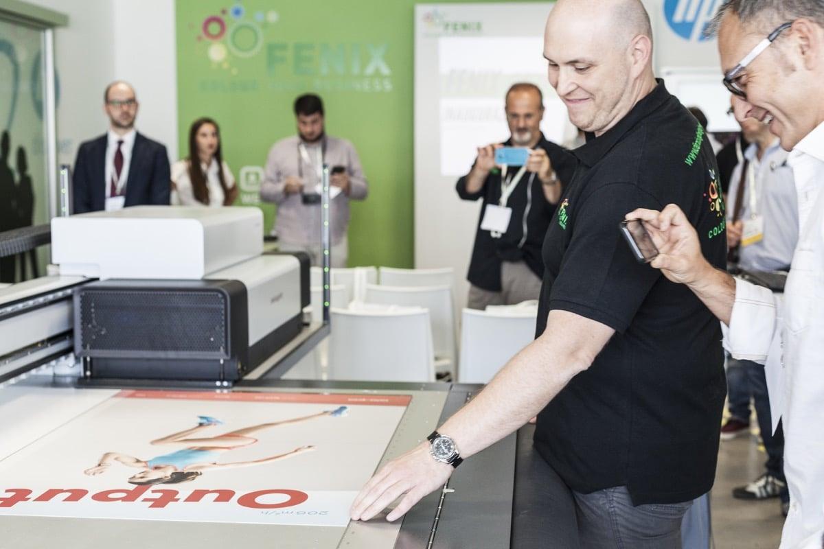 Inaugurazione Fenix Print Lab swissQprint Nyala LED