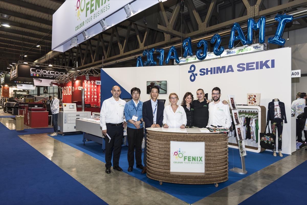 Viscom Italia: team Shima Seiki