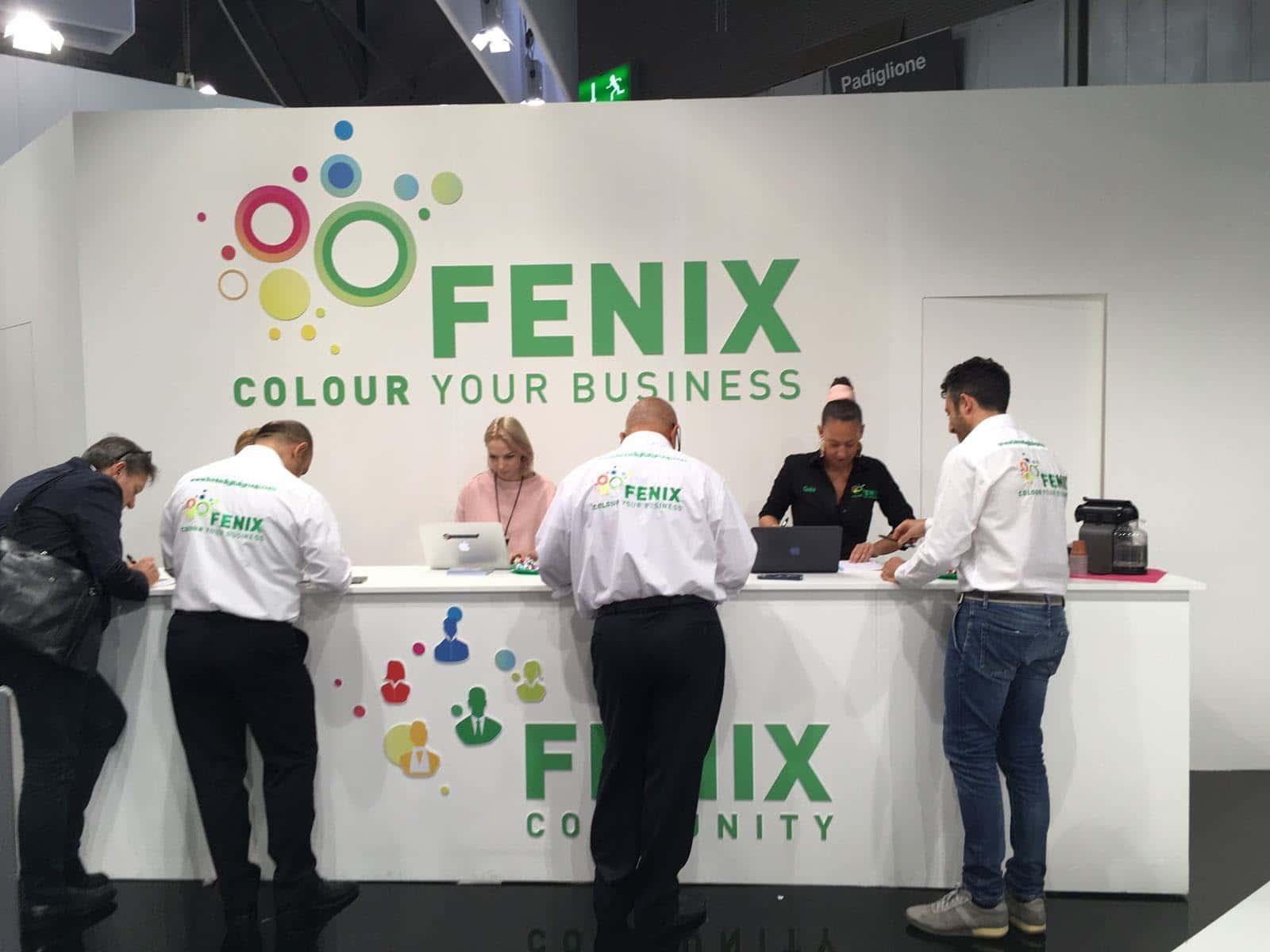 Benvenuto allo stand Fenix DG a Viscom!