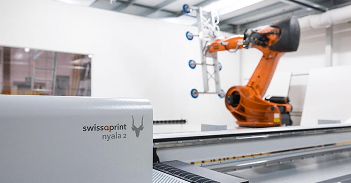 swissQprint Nyala 2 per la stampa inkjet su vetro di GlasDruckManufaktur