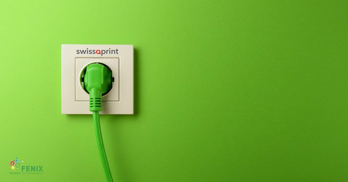 swissQprint, efficienza energetica certificata ISO