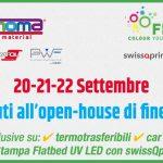 Il flatbed UV LED di swissQprint è a Roma da Eurmoma