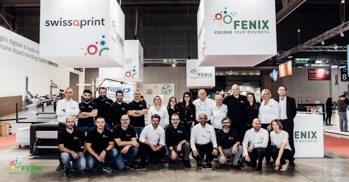 Il team Fenix DG a Viscom Italia 2018