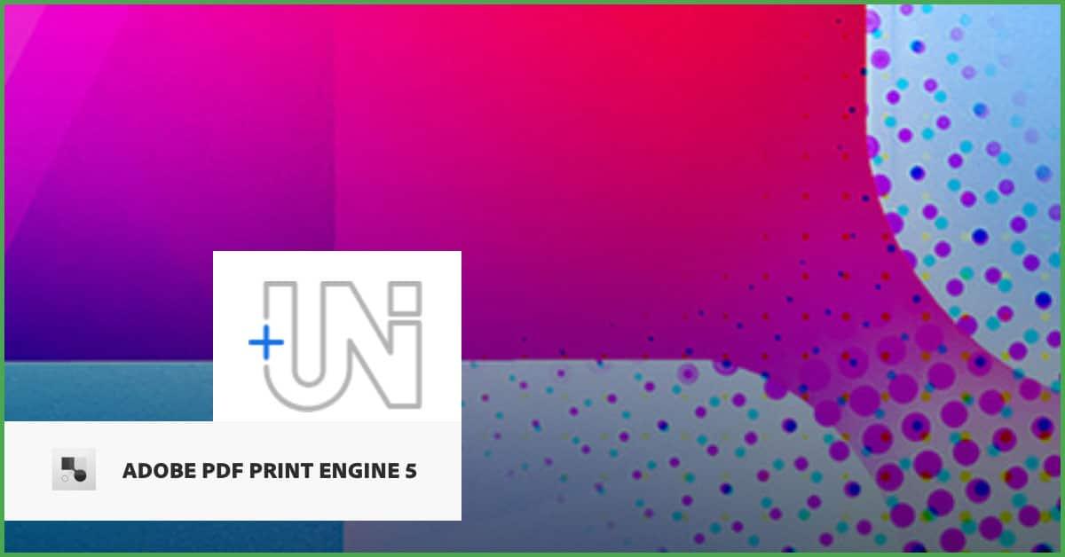 Adobe PDF Print Engine APPE 5.0: Unicode