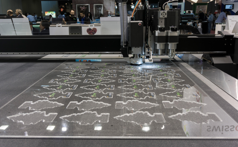 Taglio digitale di grande formato con Gerber MCT Cutter