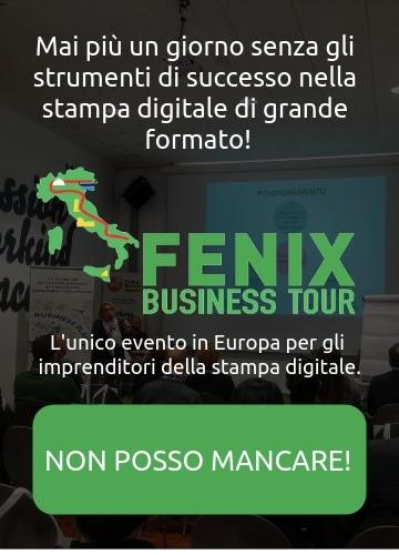 Fenix Business Tour: banner per partecipare