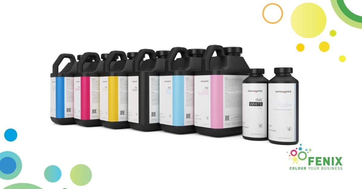 swissQprint Karibu: inchiostri ecologici flessibili UV LED