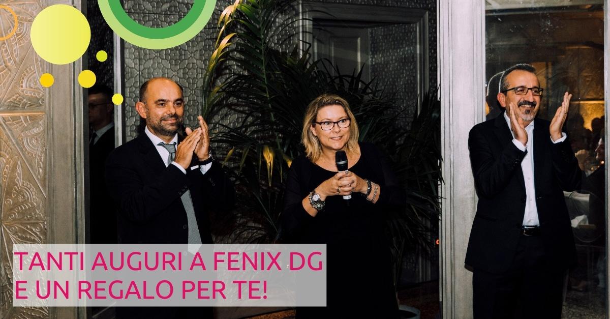 10° anniversario Fenix Digital Group: i tre soci