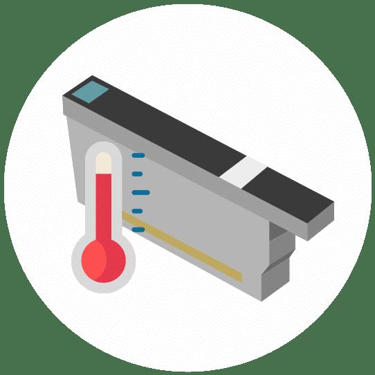 Teste di stampa termiche